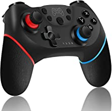 DeHasion Wireless Switch Pro Controller for Nintendo Switch - Remote Pro Controller Gamepad Joypad/Joystick for Nintendo Switch Console- Support Gyro Axis, Turbo and Dual Vibration