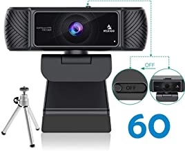 $99 » Webcam 1080P 60FPS with Microphone for Streaming, Advanced AutoFocus, w/Privacy Cover and Tripod, NexiGo N680P Pro Compute...