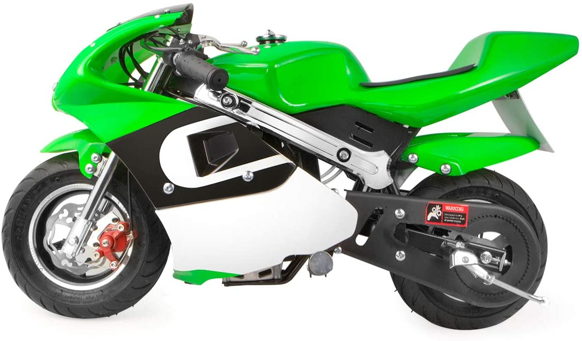 XtremepowerUS Fixed price for sale Mini Opening large release sale Gas Pocket Bike EPA Motorcycle 4-Stroke Engin