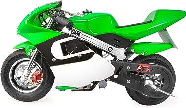 XtremepowerUS Mini Gas Pocket Motorcycle Bike 4-Stroke EPA Engine Motor Pocket Padded Seat 40cc Engine (Green)