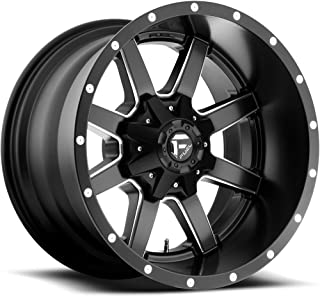 FUEL Maverick NBD-Matte BLK MIL Wheel with Painted (20 x 12. inches /8 x 165 mm, -44 mm Offset)