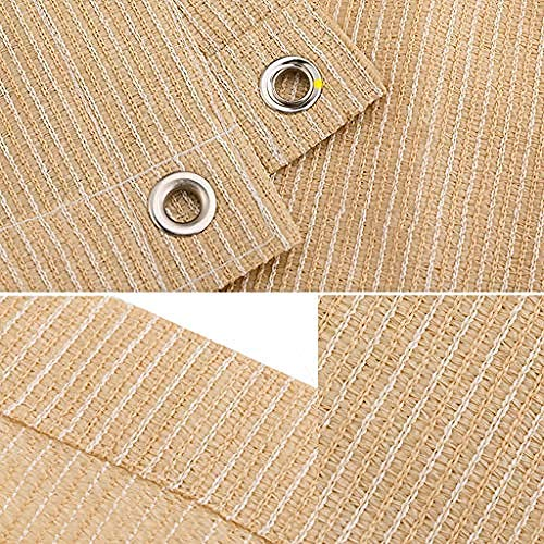 H.ZHOU Shade Reflective Shade Towel 80% Silver Shade Towel UV-resistant shade fabric for garden patio sun shading pergola canopy-12x12ft/4x4m 908
