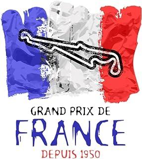Formula One Notebook, F1 Racing Circuit Paul Ricard Vintage Journal, Grand Prix de France Lined Notebook