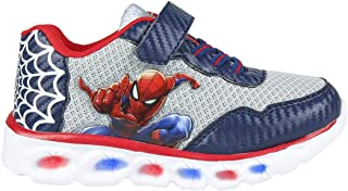 CERDÁ LIFE'S LITTLE MOMENTS Cerdá-Zapatillas Led Spiderman de Color Azul, Niños