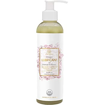 Organic Personal Lubricant & Massage Oil – Natural Lube for Men and Women with Extra Nourishing, Hydrating, Soothing Ingredients. Edible, Non Toxic, Paraben Free Formula Era-Organics