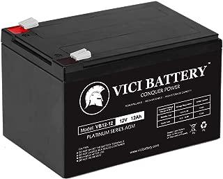 VICI Battery 12V 12AH Replacement Battery for Feber Ferrari California Brand Product