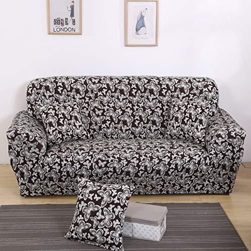 CCBAO Lindo Simple Retro Mariposa Sucia Sofá Cubierta Poliéster Sofá Cubierta Toalla Adecuada para Casa Sofá