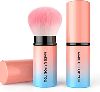 Brush Set Makeup Retractable Kabuki Blush Foundation Powder Cosmetic Makeup Brush Kit