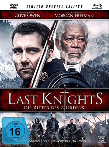 Last Knights - Die Ritter des 7. Ordens [Mediabook inkl. DVD + Blu-ray] [Limited Special Edition]