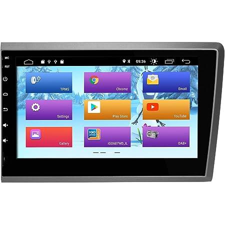 Zltoopai Android 10 Autoradio 2 Din Gps Navigation Für Volvo S60 V70 Xc70 2000 2004 Unterstützung Bildschirm Spiegel Wifi Volle Rca Ausgabe Navigation