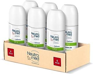 Neutromed, Deodorante Roll Dry, 300 ml