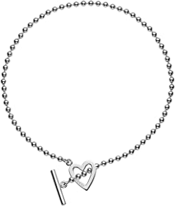 Gucci - Large Toggle Heart Necklace