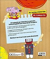Rompiamo le scatole! Tante idee per creare riciclando. Con adesivi #1