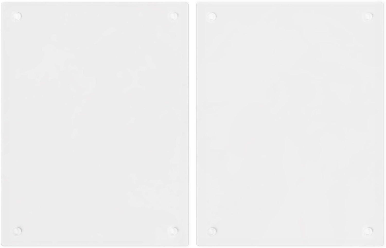 Herdabdeckplatte Glas universal ESG Sicherheitsglas Milk /& Coffee 52 x 80 cm