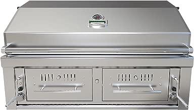 "Emerald Series 42"" Gas/Charcoal/Wood Hybrid"
