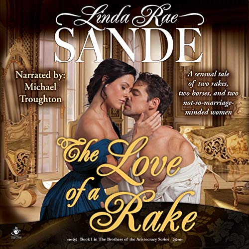 The Love of a Rake audiobook cover art