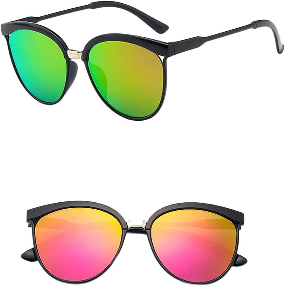Polarisierte Sonnenbrille für Damen& Herren Leichte Rahmen UV400 Polychromatisch Sonnenbrillen