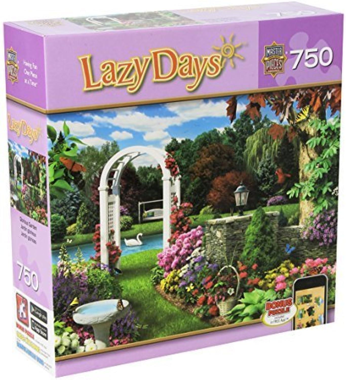precio al por mayor Masterpieces Masterpieces Masterpieces Glorious Garden Lazy Days Jigsaw Puzzle (750-Piece) by MasterPieces  mejor calidad mejor precio