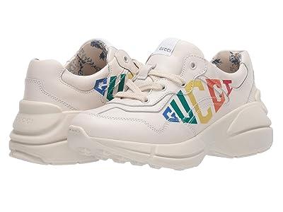 Gucci Kids Rhyton Sneaker (Little Kid) (Mystic White) Girl