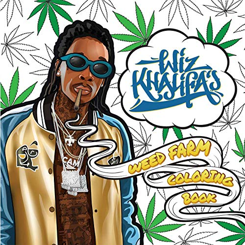 Wiz Khalifa's Weed Farm Coloring Book