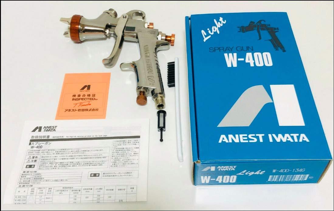 ANEST IWATA Iwata W-400-134G(1.3mm Nozzle) Bellaria Spray Gun without cup