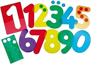 Henbea- Plantilla de Aprendizaje números, trasl&uac