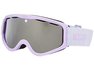 Spy Optic Cadet (Herringbone Lavendar Hd Bronze w/ Silver Spectra Mirror) Goggles