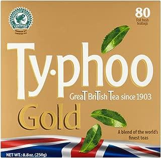 Typhoo Gold Teabags 80 per pack 250g