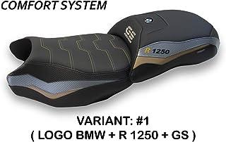 Sattelbezug kompatibel mit R 1250 GS EXCLUSIVE Mod BATNA COMFORT SYSTEM (mehrfarbig) Tapeterie Italien