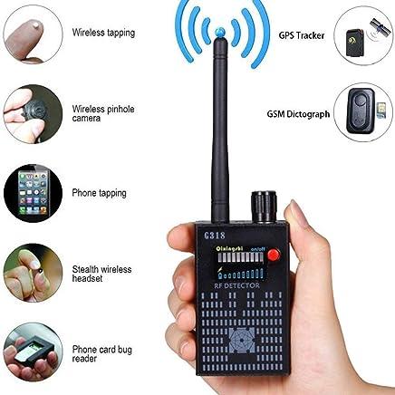 Cyperlink Wireless AntiSpy GPS Signal Detector Spy Bug Camera RF Scanner GSM Device (Black)