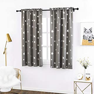 Anjee Kid Room Curtains 54 Inch Long Thermal Insulated,...