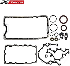 Vincos Lower Gasket Set with oil pan gaskets seals Replacement For Ford 4.0L SOHC 1997 98 99 2000 01 02 03 04 05 06 07 08 09 10 11