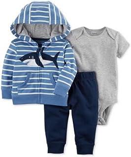 28d2e4d93 Carter's - Set de 3 Piezas de Sudadera, Body y Pantalones de algodón para  bebé