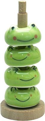 ヤマキイカイ 箸置き (カエル) 緑 MJ499