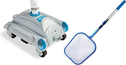 Intex Automatic Above-Ground 1,600-3,500 GPH Pool Vacuum with Pool Skimmer Net