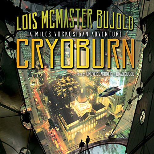 Cryoburn audiobook cover art