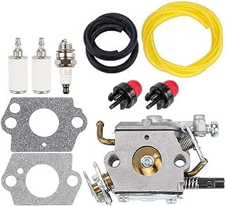 Dxent 503283110 C1Q-EL24 Carburetor Kit for Husky Husqvarna 123C 123L 123LD 223L 223R 322C 322L 322R 323C 323L 325C 325CX 325L 325LX 326C 326L 326LX String Trimmer Jonsered GC2125 GT2125 Carb
