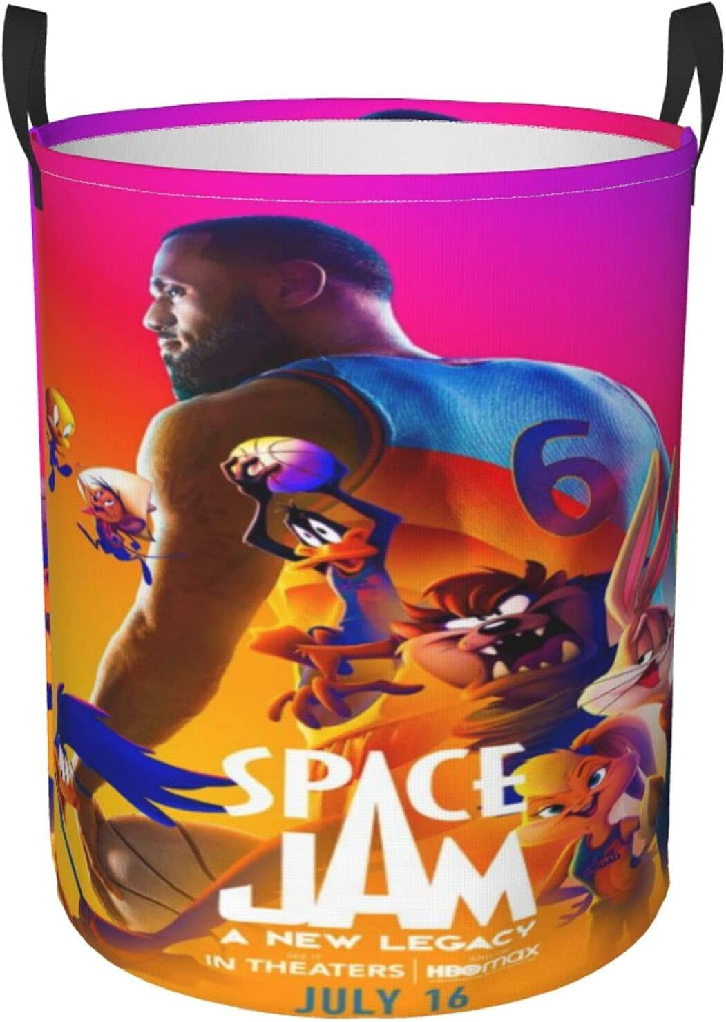 Space New Orleans 5 ☆ very popular Mall Jam Round Waterproof Dirty Portable Basket Clothes Storag