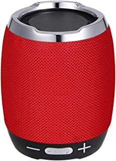 Portable Wireless BT Speaker Stereo Sound Box Music Player BT4.1 Built-in Microphone Support Handsfree Calls Function FM Radio Equipped with TF Card alot/aUX IN/USB Port