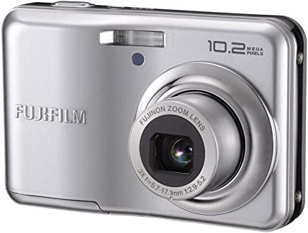 Fujifilm FinePix A170 (10.2MP) Digital Camera 3X Zoom 2.7 inch LCD Monitor (Silver)