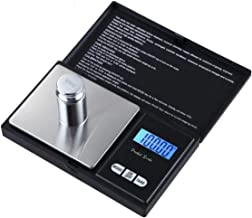 Cs High-Precision Jewelry Scale Electronic Scale 0.01 Mini Electronic Scale Portable Pocket Scale 0.1 G Scale - Black