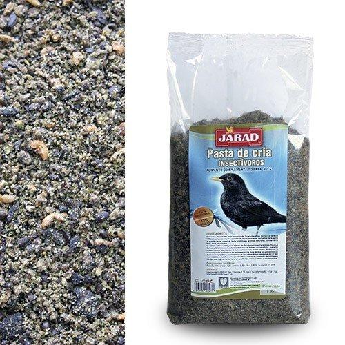 JARAD Alimento para pájaros Pasta de cría insectívoros