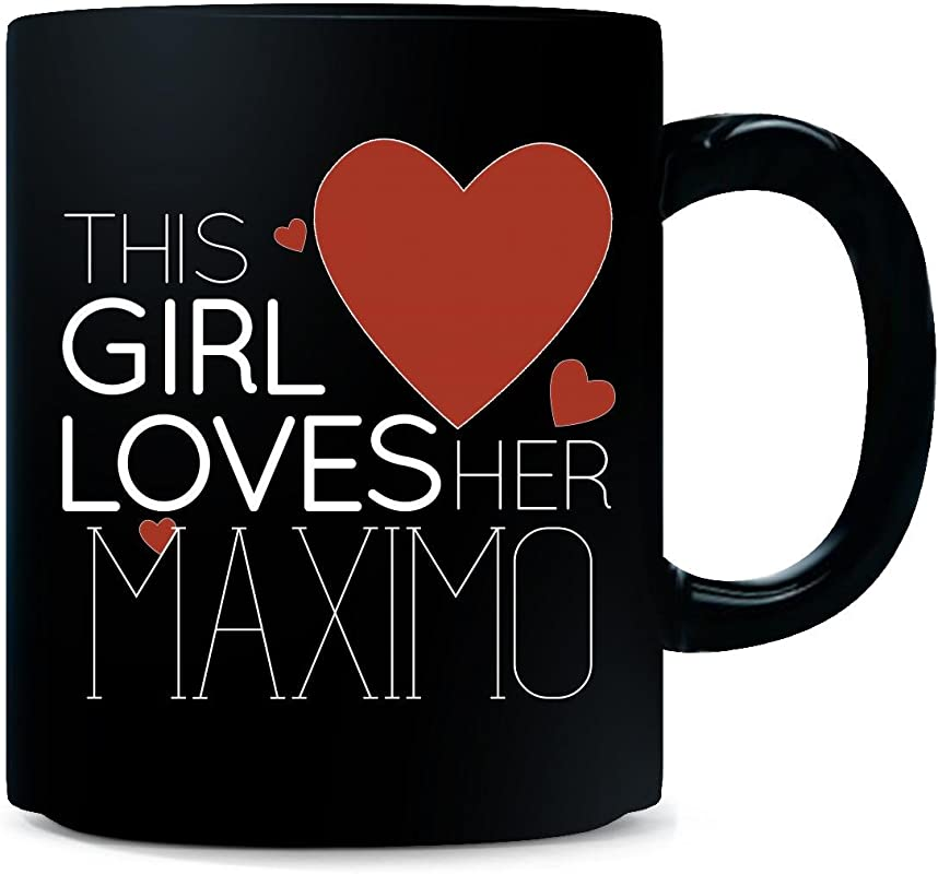 This Girl Loves Her Maximo Mug