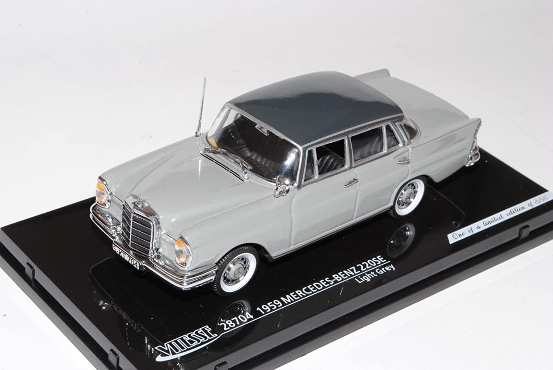 Vitesse Mercedes-Benz 220SE Limousine Grau W111 1959-1968 1 43 Modell Auto B00B0H0IFO Neuheit Spielzeug    Um Eine Hohe Bewunderung Gewinnen Und Ist Weit Verbreitet Trusted In-und