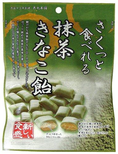 大丸本舗 さくっと食べれる抹茶きなこ飴 54g×10袋