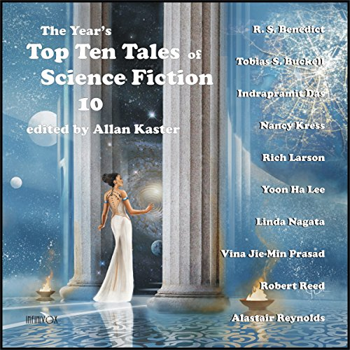 The Year's Top Ten Tales of Science Fiction 10 audiobook cover art