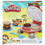 Conjunto De Massinha Play-doh Festa Do Hamburguer 5 Potes Play-doh Multicor