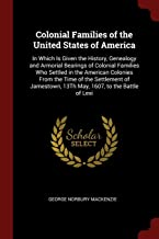 Best colonial families of the united states Reviews