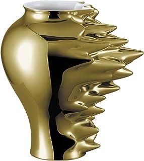 Rosenthal Fast Vase 27cm Gold titanisiert 14271-426157-26027