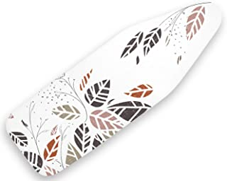 Encasa Homes deska do prasowania z bardzo grubą wyściółką (pasuje do standardowych dużych desek 122 x 38 cm) jesienny liść...